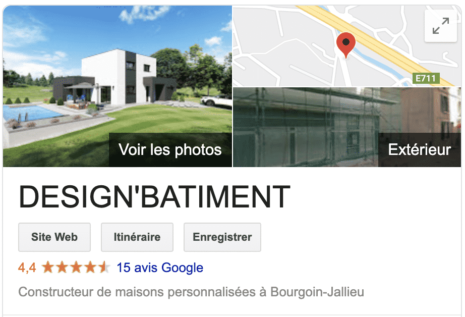 Avis clients Design'Batiment